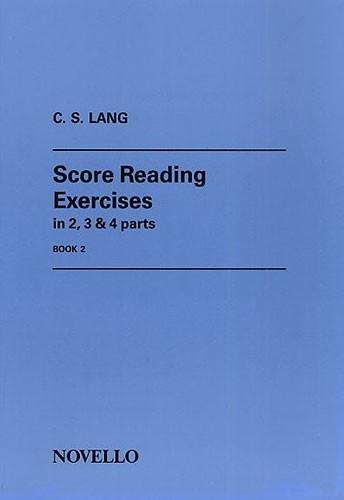 Score Reading Exercises: Book 2: Organ