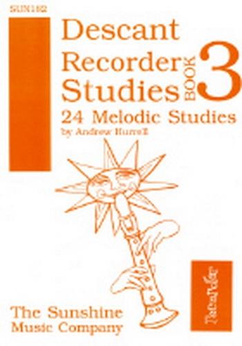 Descant Recorder Studies Book 3: 24 Melodic Studies (Hurrell)