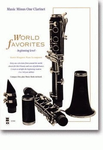 Music Minus One: World Favourites: Clarinet: Book & CD