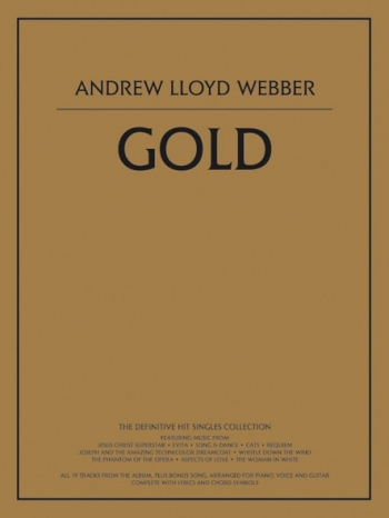 Lloyd Webber Gold: Piano Vocal Guitar