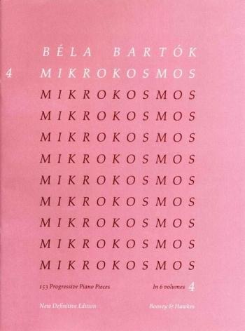 Mikrokosmos Vol.4: Piano (Boosey & Hawkes)