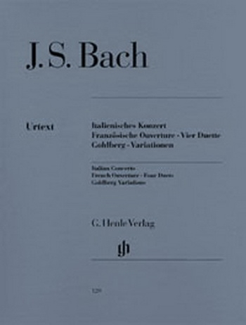 Italien Concerto: French Concerto: Goldberg Variation: Piano  (Henle)