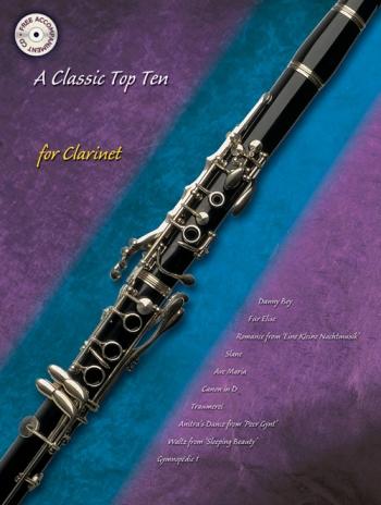Classic Top Ten: Clarinet: Book & CD