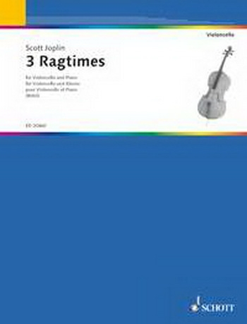 Three Ragtimes: Cello