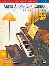 Alfred Adult All In One Course: Level 2 Piano Book & Cd