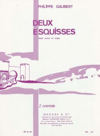 Two Esquisses Flute (Heugel)