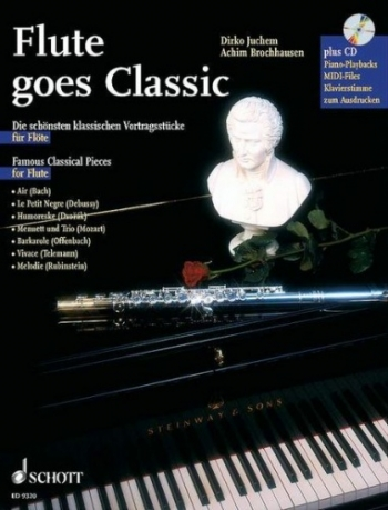 Flute Goes Classic Book & CD
