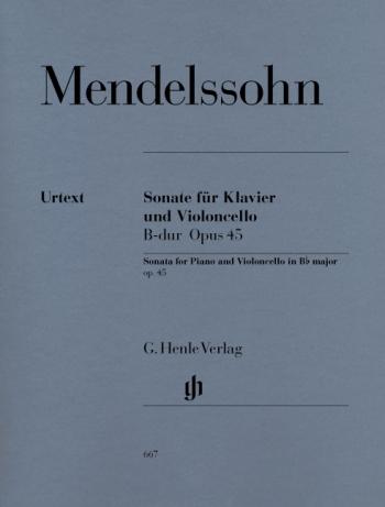 Sonata: Bb Major: Op45: Cello (Henle)