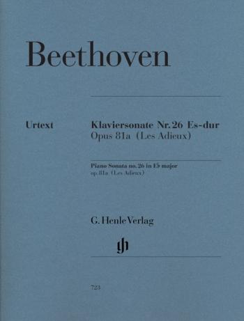 Piano Sonata Eb Major  Op81a: Piano (Henle)