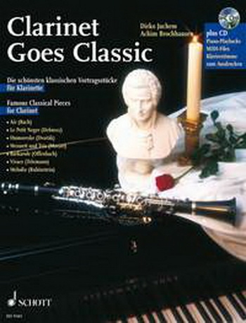Clarinet Goes Classic: Book & CD