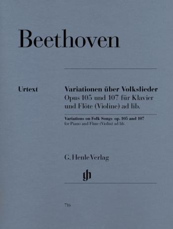 Variations On Folk Songsfor Flute & Piano (Henle)