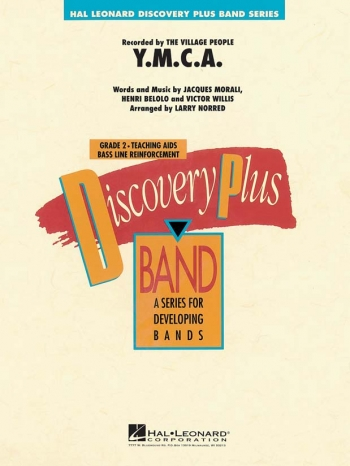Discovery Plus: YMCA: Concert Band Score & Parts