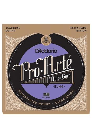 D'Addario Classical Guitar Ej44 Pro-Arte Nylon Extra Hard Tension