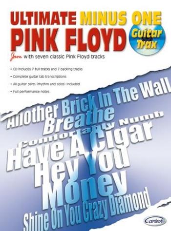 Ultimate Minus One: Pink Floyd: Guitar Tab: Book And Cd