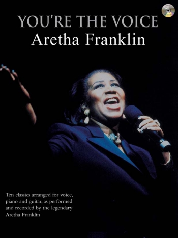 Youre The Voice: Aretha Franklin: Piano Vocal Guitar: Bk&cd