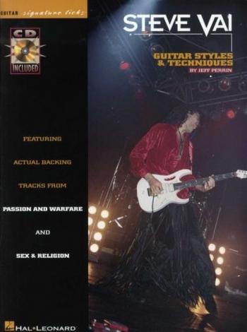 Signature Licks: Steve Vai:  Guitar Styles + Techniques: Book & CD