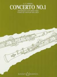 Oboe Concerto: 1: Bb Major: Oboe & Piano (B&H)
