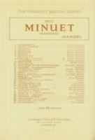 Minuet From Berenice: Organ