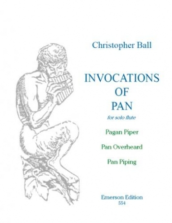 Invocations Of Pan: Solo Flute (Emerson)