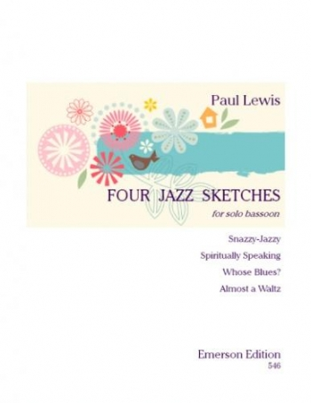 Four Jazz Sketches: Bassoon Solo (Emerson)