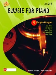 Boogie For Piano: Grade 2-3