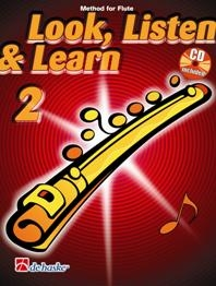 Look Listen & Learn 2 Flute: Book & CD  (Sparke)