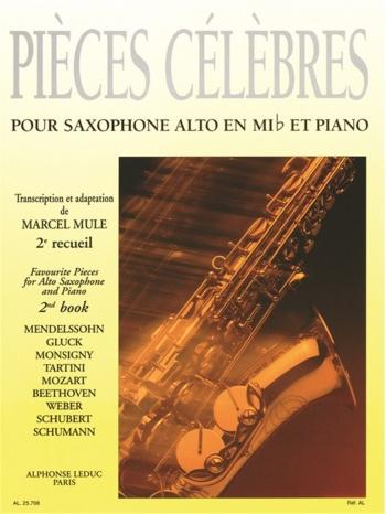 Pieces Classiques Celebres: 2: Alto Saxophone & Piano