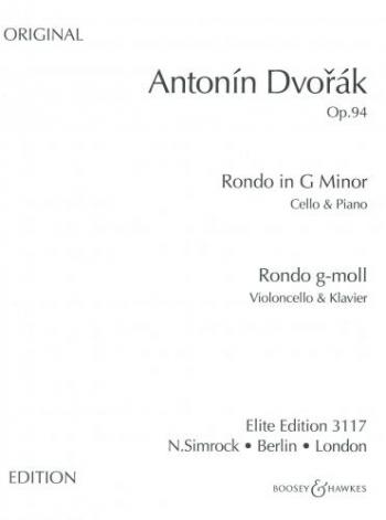 Rondo: G Minor: Op94: Cello