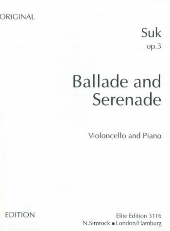 Ballade and Serenade Op3: Cello
