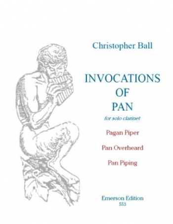 Invocations Of Pan: Clarinet (Emerson)