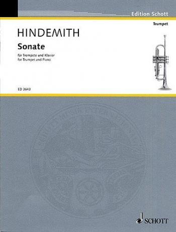 Sonate: 1939: Trumpet and Piano