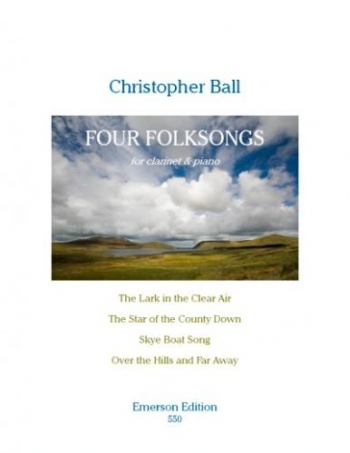 Four Folksongs: Clarinet & Piano (Emerson)