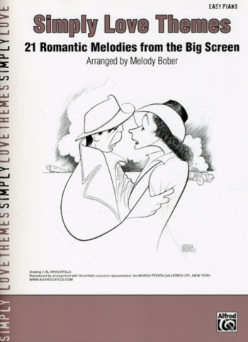 Simply Love Themes: 21 Romantic Melodies From Big Screen: Easy Piano
