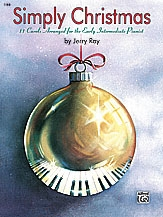 Simply Christmas: 11 Carols For Early Intermediate: Easy Piano