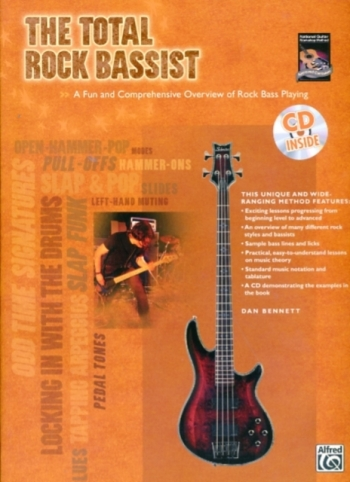 Total Rock Bassist: Rock Bass Guitar: Book & CD