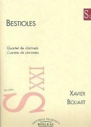 Bestioles: Clarinet Quartet