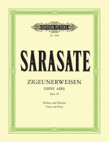 Zigeunerweisen: Op20: Violin And Piano (Peters)