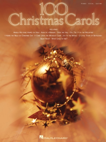 100 Christmas Carols: Piano Vocal Guitar