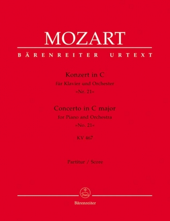 Concerto: No.21: C Major: Kv467: Miniature Score