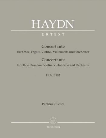 Concertante Hob. I:105: Study Score