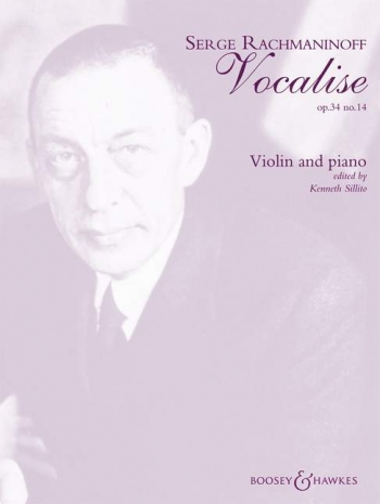 Vocalise: Op34: 14: Violin and Piano