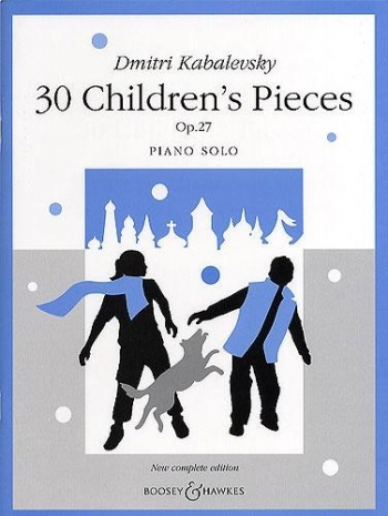 30 Childrens Pieces Op.27: Piano (B&H)