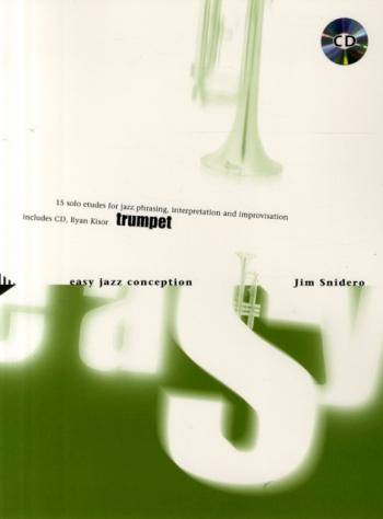 Easy Jazz Conception: Trumpet Book & Cd (snidero) (Advance)