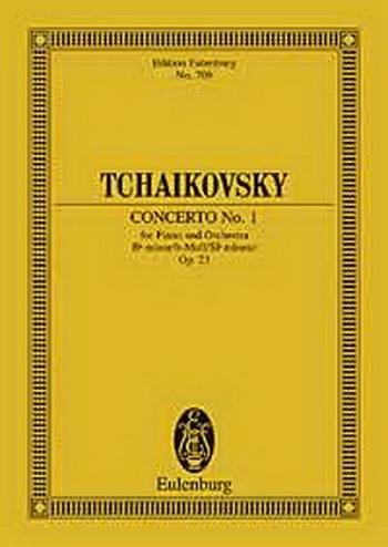 Concerto No.1: Bb Major: Miniature Score