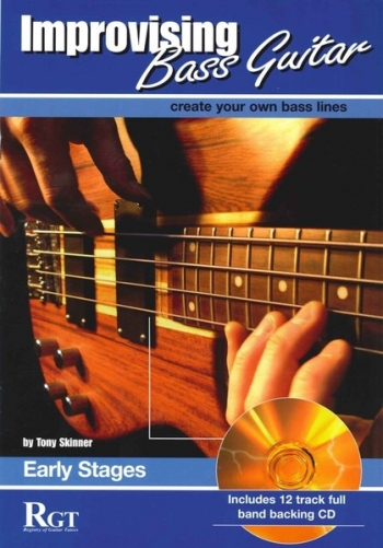 Improvising Bass Guitar: 1  Early Stages: Book & CD