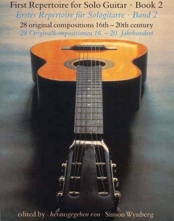 First Repertoire For Solo Guitar: Vol 2