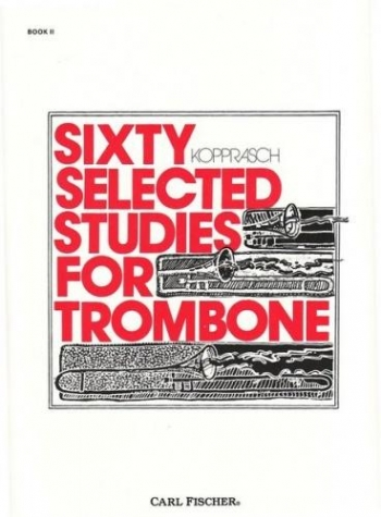 60 Selected Studies: Book 2: Trombone (Carl Fischer)