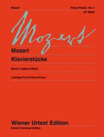 Klavierstucke: Piano Pieces Vol.2  (Wiener Urtext)