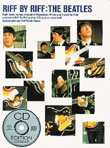 Beatles: Riff By Riff: Guitar Tab: Bk&cd