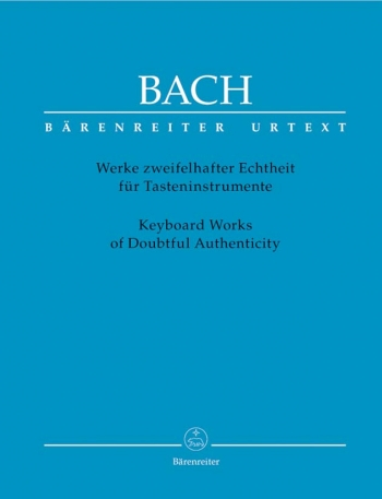 Keyboard Works Of Doubtful Authenticity  (Barenreiter)
